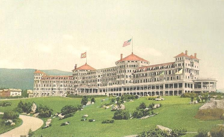 The Washington Hotel in which the Bretton-Woods agreement was signed in 1944