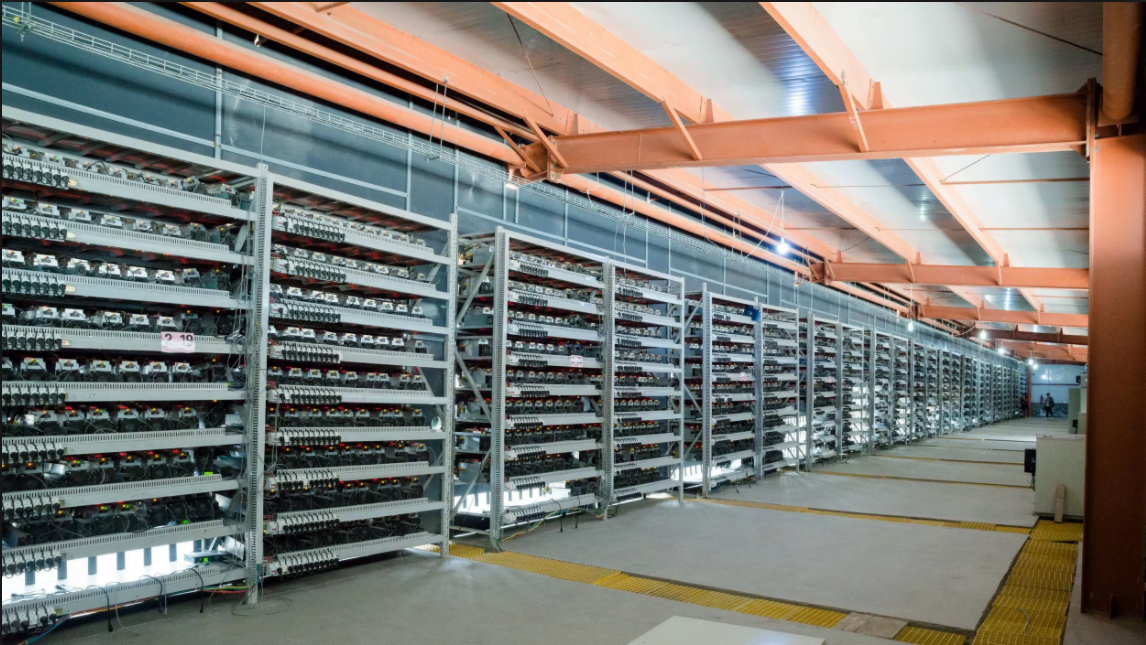 Bitcoin miners in Mongolia
