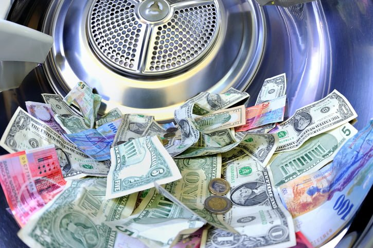 £150 billion is estimated to be laundered in the UK every year
